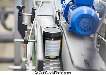Conveyor Line of Pharmaceutical Factory