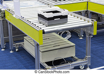 Conveyor Roller with pallet