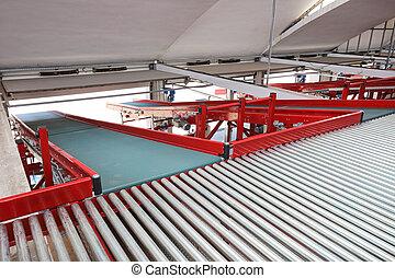 Conveyor Rollers Sorting