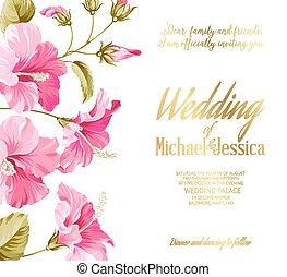 convite casamento, card.
