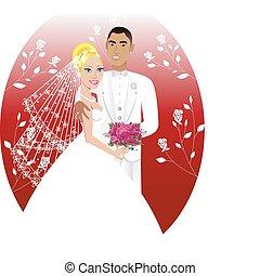 convite casamento, modelo, 6