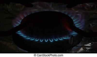 Coocking stove.