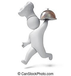 Cook 3d render