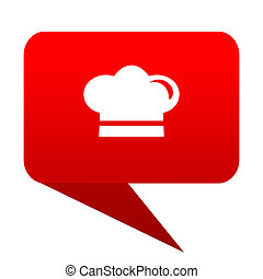cook bubble red icon
