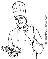 Cook Gesture Delicious Food
