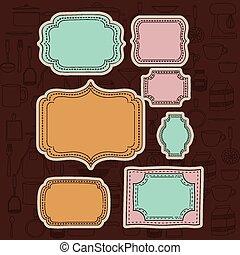 Cook icon design