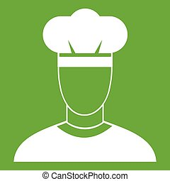 Cook icon green