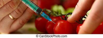 Cook in kitchen introduces secret ingredient to tomato ...