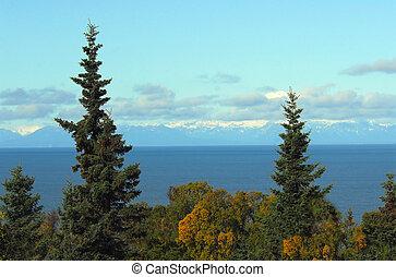 Cook Inlet Alaska Landscape