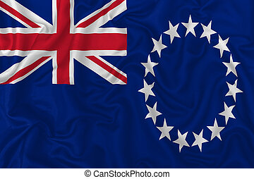 Cook Islands country flag