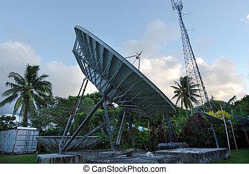 Cook Islands TV station - Avarua