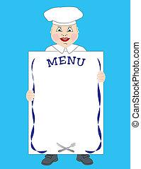 cook, menu