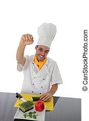 cook, punch, op