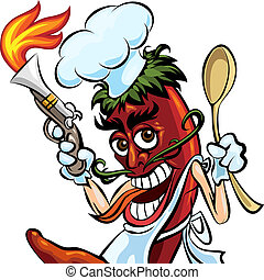 Cook the pepper
