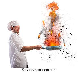 Cook troublemaker