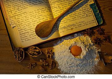 cookbook, antigas