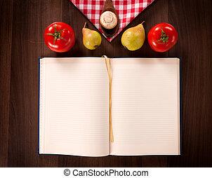 Empty cookbook