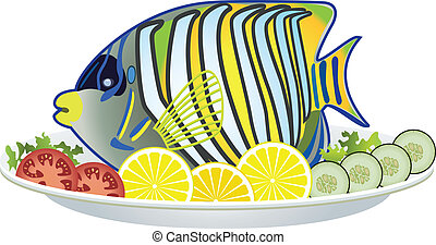 Cooked fish Vector Clip Art EPS Images. 15,255 Cooked fish ...