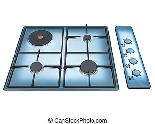 cooker 3D isolated