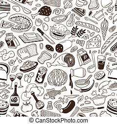 Cookery - seamless background