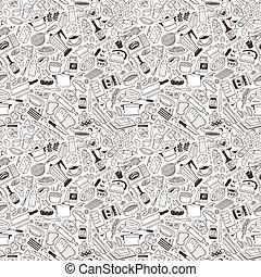 Cookery - seamless pattern