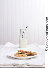 Cookie and Milk Snack