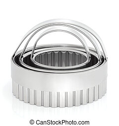 Cookie Cutters - Circular cookie cutter in stainless steel...