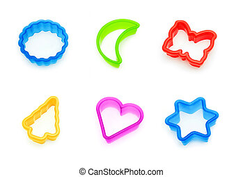 cookie cutters collage