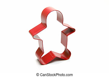 Cookie Cutters isolated against a white background