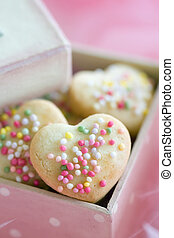 Cookie gift box - Gift box filled with mini home made...