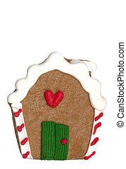 Cookie - Gingerbread House - Gingerbread House cookie. (...