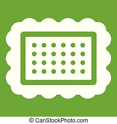 Cookie icon green