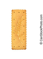 Cookie isolated on a white background