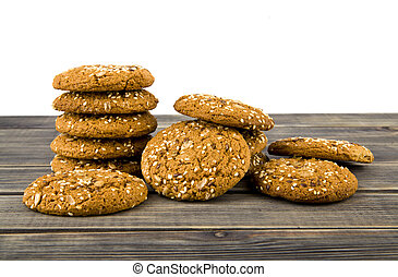 cookie isolated on white background