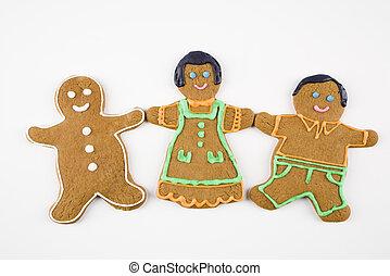 cookie pain épices, friends.