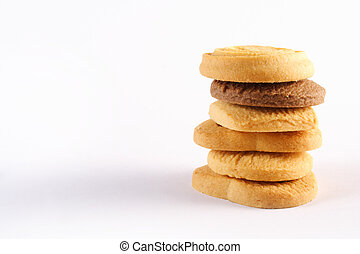 cookie piled