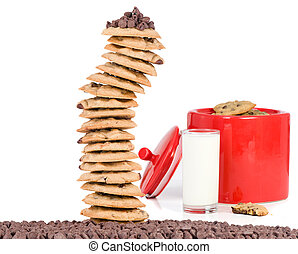 Cookie Tower and Jar