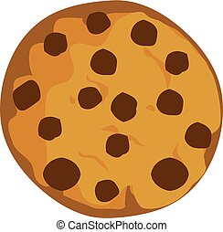 Cookie - vector cookie chocolate chip