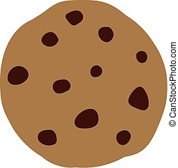 Cookie with chocolate chip