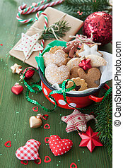 Cookies and decorations for christmas