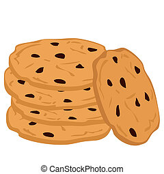 cookies., chocolate