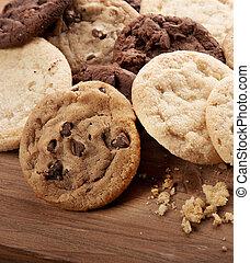 cookies., gruppo, assortito