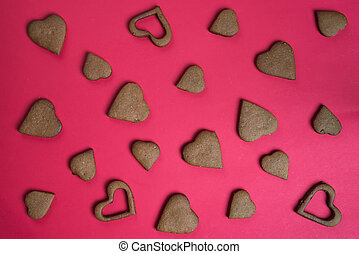 Cookies Heart for valentine's day