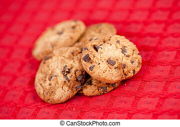 Cookies laid out together