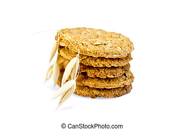 Cookies oatmeal stack