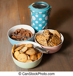 Cookies on the table