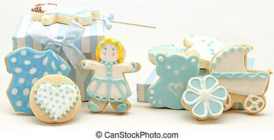 Cookies decorated baby