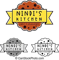 Cookies sign and symbol logo vector