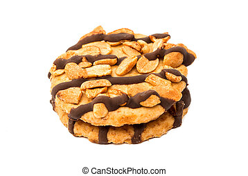 cookies with peanuts,