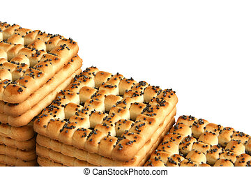 Cookies with poppy-seed